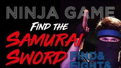 【イベント】NINJA GAME – FIND THE SAMURAI SWORD