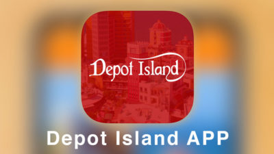 Depot Island app (iOS version) has been released!